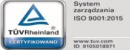 Certyfikat ISO Certus