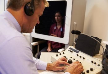 Badanie słuchu - audiometria