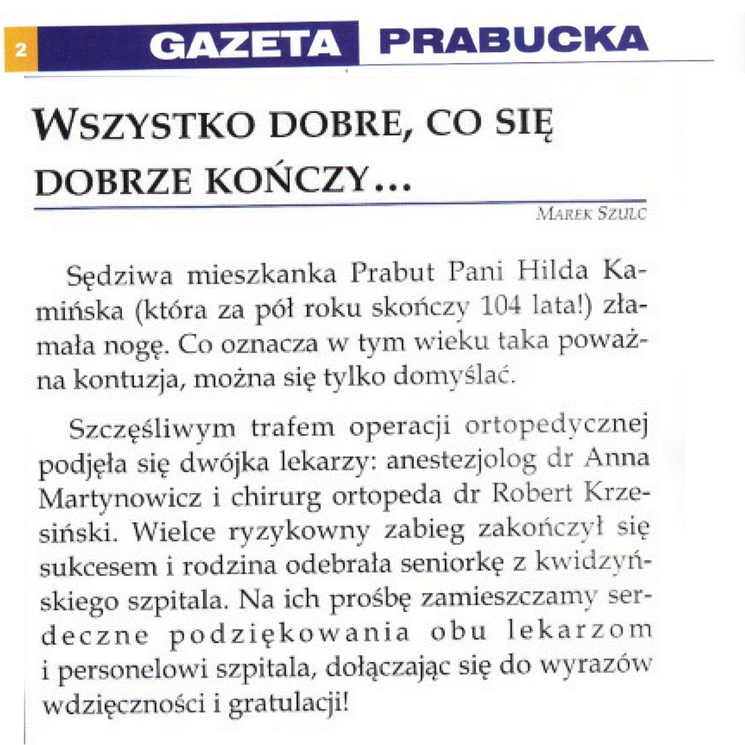 Gazeta Prabucka news Kiwdzyn
