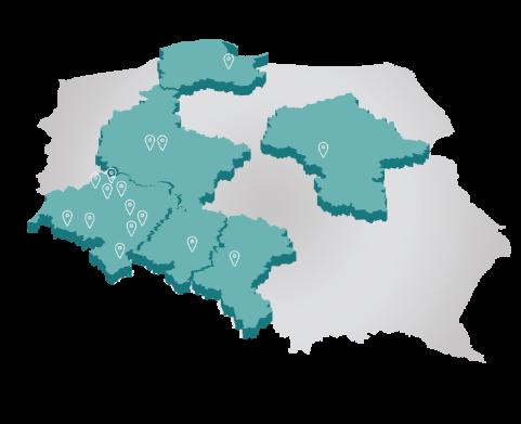 mapa EMC